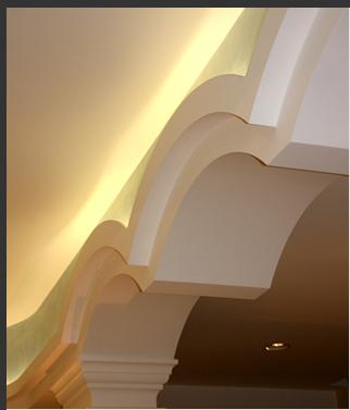 Giorgi s n c soffitti e controsoffitti decorativi e - Controsoffitto portante in cartongesso ...